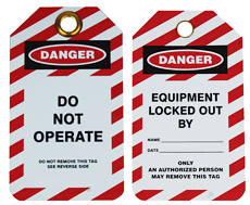 Lock Out Tags and Circuit Breakers
