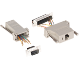 Adapters                                          - 06RJ45D25S