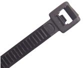 Nylon Releasable Ties                             - CTR365BK-HD