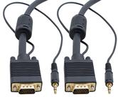 VGA Cables                                        - H40SVGAMM5-AUDIO