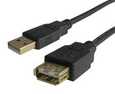 USB Cables                                        - H40USB2AMF2-BK