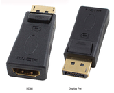 DisplayPort Cables and Adaptors                   - HADDPMHDMIF