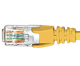 CAT5e Premium Patch Leads                         - HCAT5EYL1