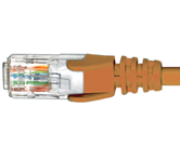 CAT5e Premium Patch Leads                         - PL5EOR5
