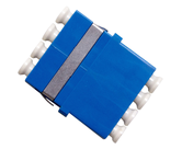 Thru Adapters and Couplers Reduced Flange         - THRU-LC-QUAD-SM