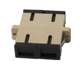 Thru Adapters and Couplers Flanged Mount          - THRU-SC-D-MM-FL