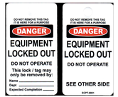 Lock Out Tags and Circuit Breakers                - U010101