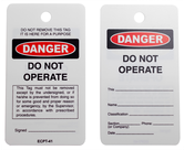 Lock Out Tags and Circuit Breakers                - U010141