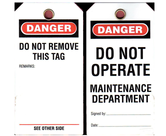 Lock Out Tags and Circuit Breakers                - U010144